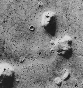تپه سنگی برسطح مریخ