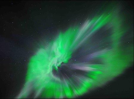 صحنههای انفجار خورشیدی