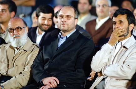 احمدینژاد، قالیباف و چمران
