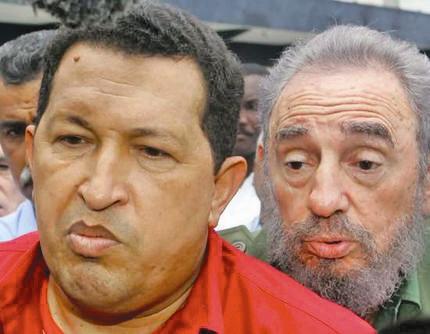 رهبرکوبا - ونزوئلا