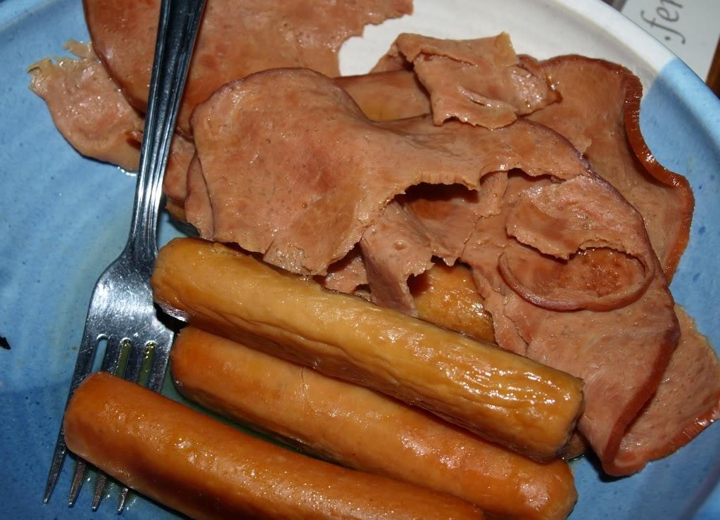 ham and susages