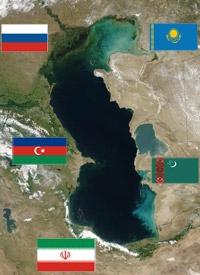 انتقال گاز کشورهای حاشیه دریای خزر از ایران