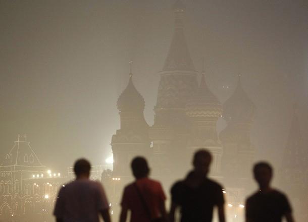 مسکو در میان مهدود