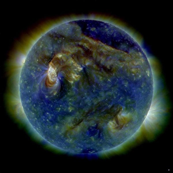 عکس ناسا از آخرین سونامی خورشیدی