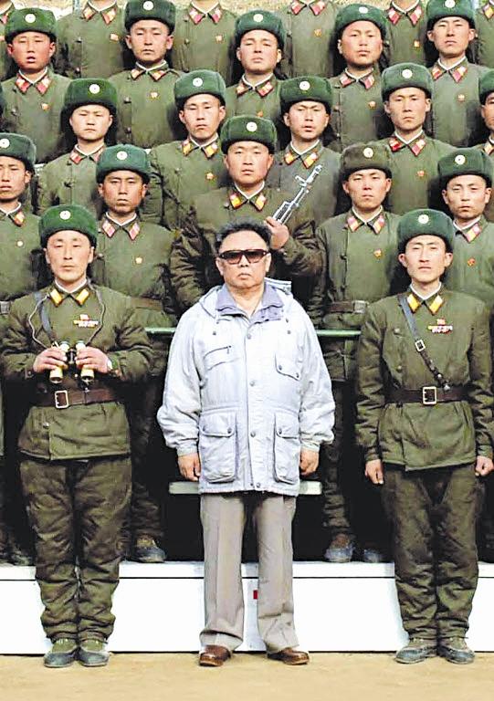 رهبر کره شمالی - کیم جونگ ایل
