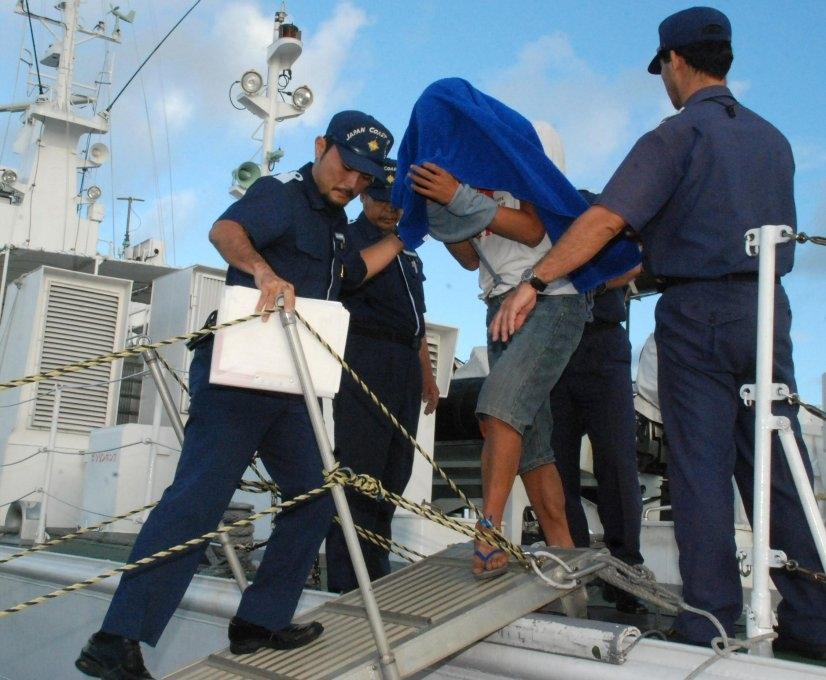 Am 8. September wurde der 41-jährige Kapitän von der japanischen Küstenwache festgenommen