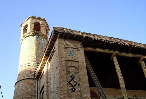 آشنایی با مسجد دو مناره - کردستان