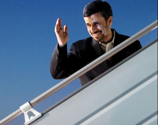 احمدی نژاد با بان کی مون دیدار می کند