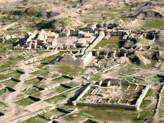 آشنایی با شهر تاریخی بیشابور - فارس