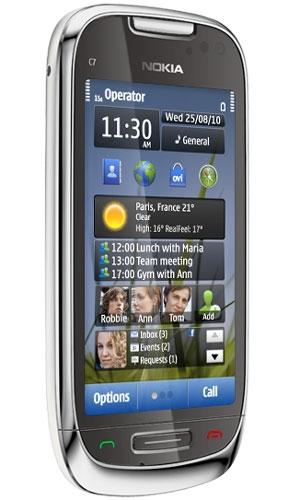 نوکیا گوشیهای E7، C7 و C6 جدید را معرفی کرد