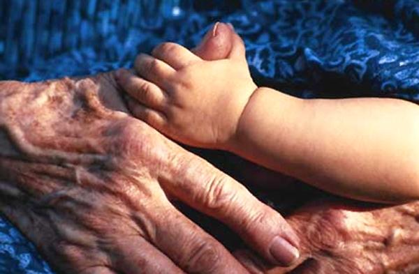 دست پیر و بچه