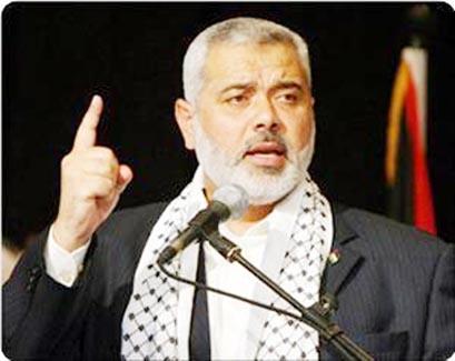 هنیه: ملت فلسطین پشتیبان مذاکرات مستقیم نخواهد بود