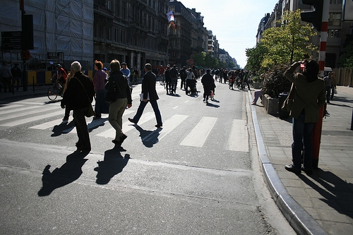 NO CARS DAY IN BRUSSELS