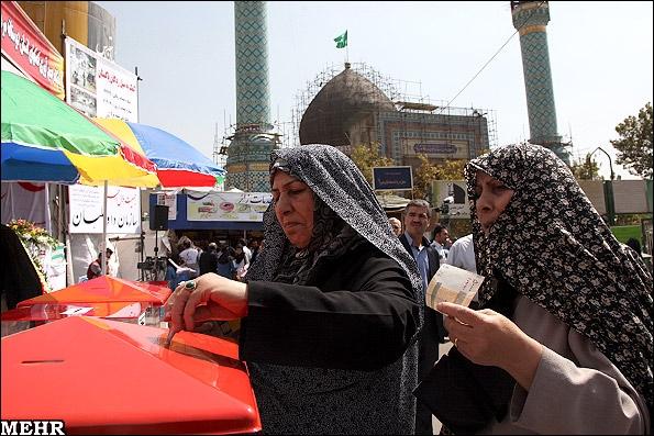گزارش تصویری از کمکهای مردم تهران به سیلزدگان پاکستان