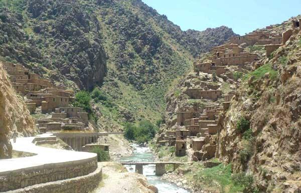 آشنایی با قلعه پالنگان - کردستان