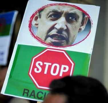 تظاهرات علیه سارکوزی در سراسر فرانسه