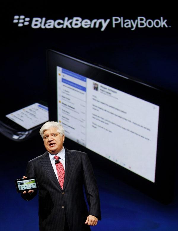 تبلت بلکبری PlayBook معرفی شد