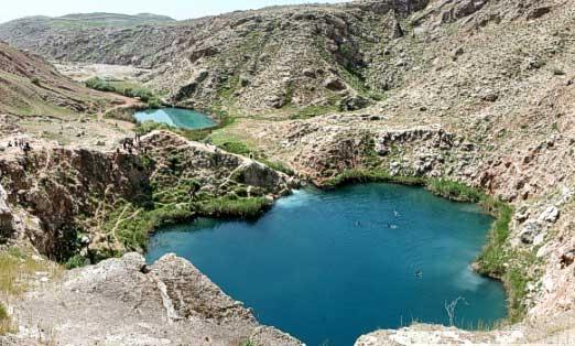 آشنایی با دریاچه دوقلوی سیاه گاو - ایلام