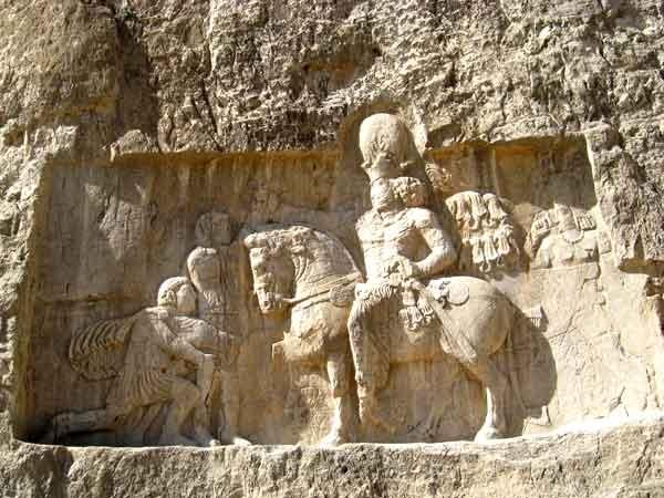 آشنایی با تنگ چوگان بیشابور - فارس