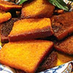 آشنایی با روش تهیه نان سوخاری شیرین