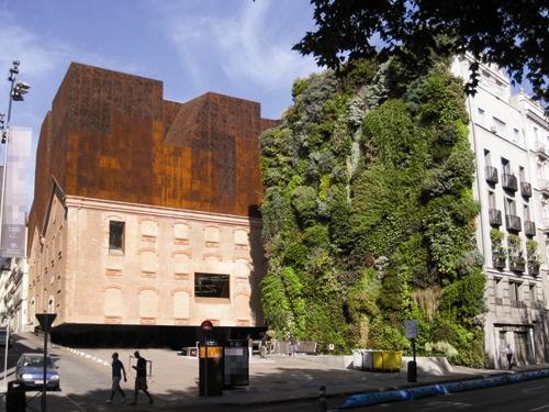 بام باغ - فضای سبز