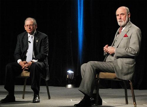 Vint Cerf and Bob Kahn