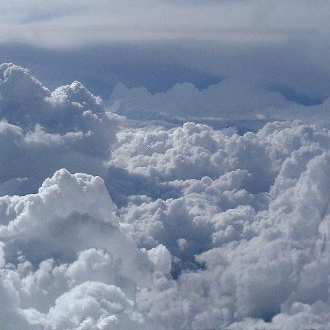 ابرها منبع انرژی پاک