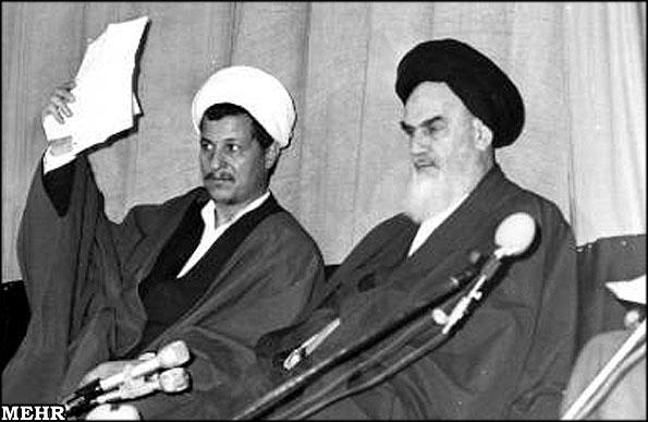 هاشمی و امام خمینی