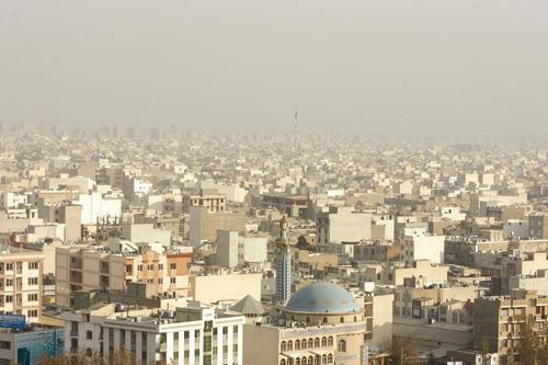 شهر تهران - آلودگی هوا
