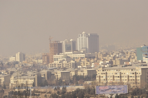 شهرتهران - آلودگی هوا