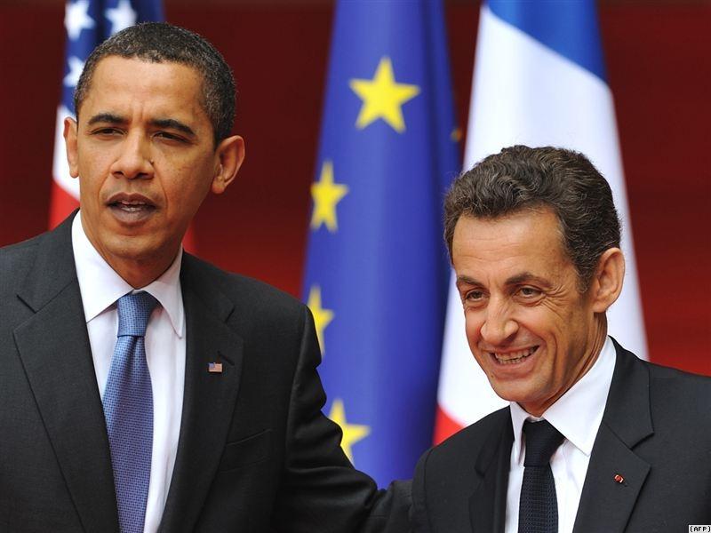 سارکوزی و اوباما
