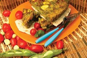 آشنایی با روش تهیه کوکوی باقالا سبز