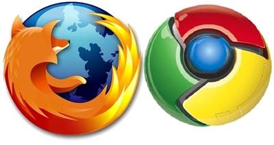 کروم و فایرفاکس