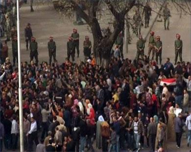 ادامه اعتراض ها در مصر