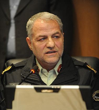 رئیس پلیس فتا سردار هادیانفر