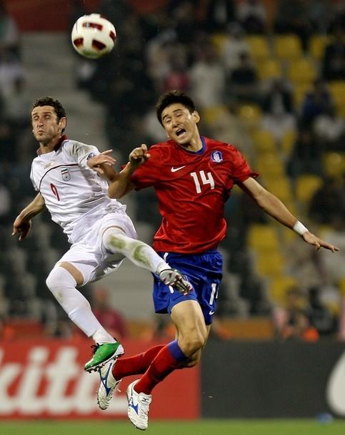 گزارش تصویری از بازی ایران و کرهجنوبی