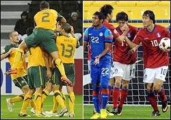 فوتبال کرهجنوبی و استرالیا