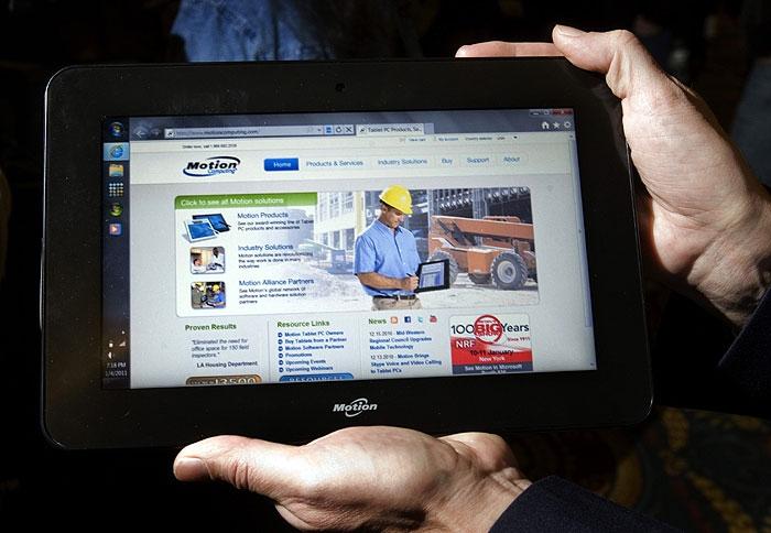 تاخت و تاز تبلتها در CES2011