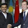 احمدی نژاد و مدودوف