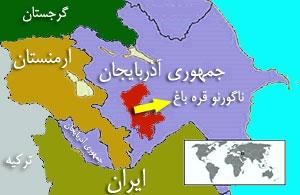 nagorno karabakh map