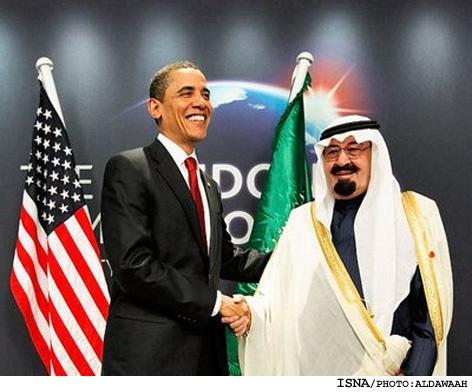 باراک اوباما- ملک عبدالله