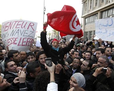واکنش سازمان کنفرانس اسلامی و اتحادیه عرب به تحولات تونس