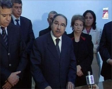 رئیس پارلمان تونس موقتا رئیس جمهور شد
