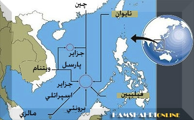 اعتراض ویتنام به مرز اعلام شده چین