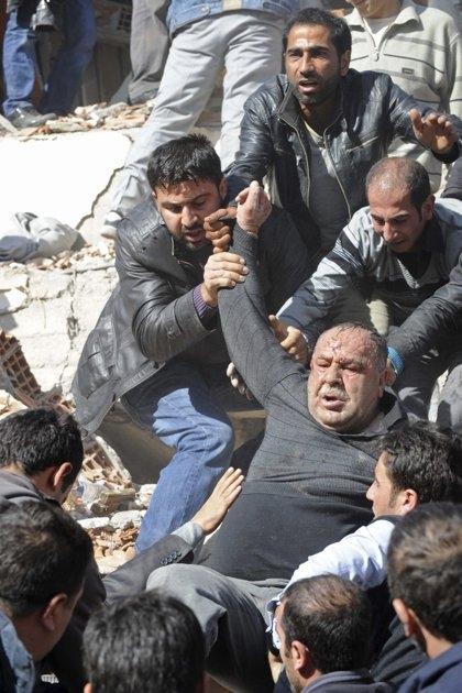 گزارش تصویری از زلزله 7.2 ریشتری ترکیه