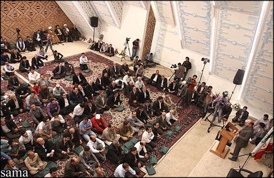 شهردار تهران در مراسم افتتاح مجتمع مذهبی-فرهنگی امام رضا(ع)