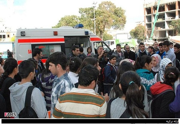 تصاویر زلزله شدید ترکیه