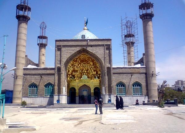 آشنایی با بقعه پنج تن - تهران