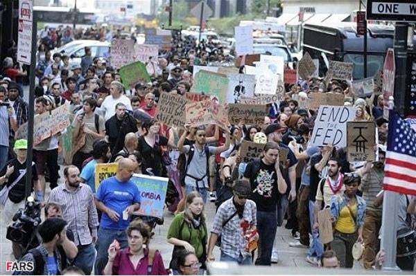 تظاهرات در نیویورک