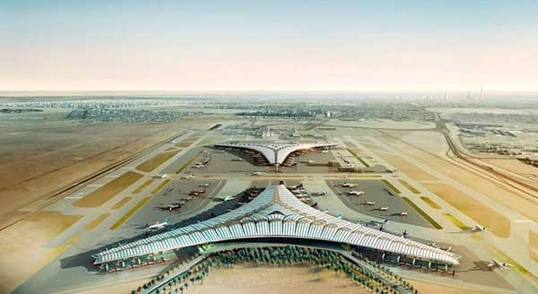 فرودگاهی با سقف خورشیدی